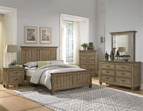 homelegance bedroom furniture homelegance sylvania bedroom set driftwood oak 2298 bed