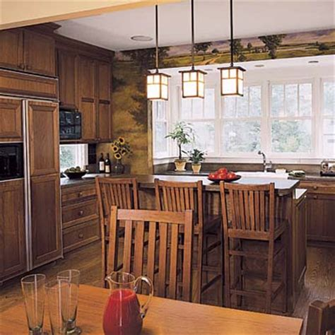craftsman kitchen lighting designing the kitchen island