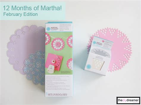martha stewart crafts 12 months of martha february supplies the d i y dreamer