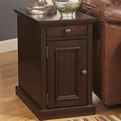 table davis davis chairside table with power living room occassional