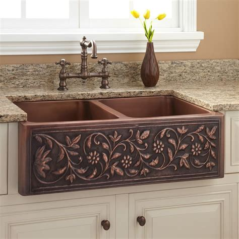 kitchens with copper sinks 25 best ideas about copper sinks on country