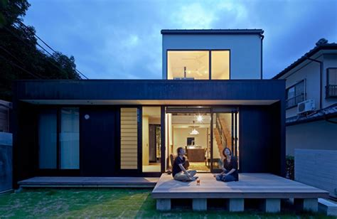 Home Decorating Parties compact wooden home with japanese details for young