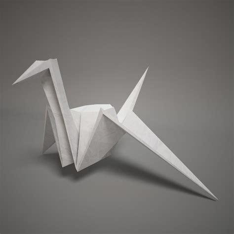 3d origami paper 3d model of origami paper swan