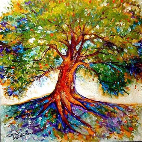colorful tree colorful tree of idea tattoos