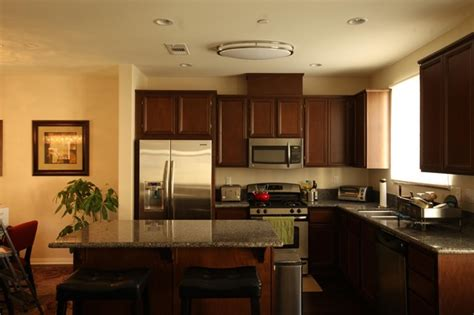 modern kitchen ceiling lights contemporary kitchen featuring the el 855 ceiling light