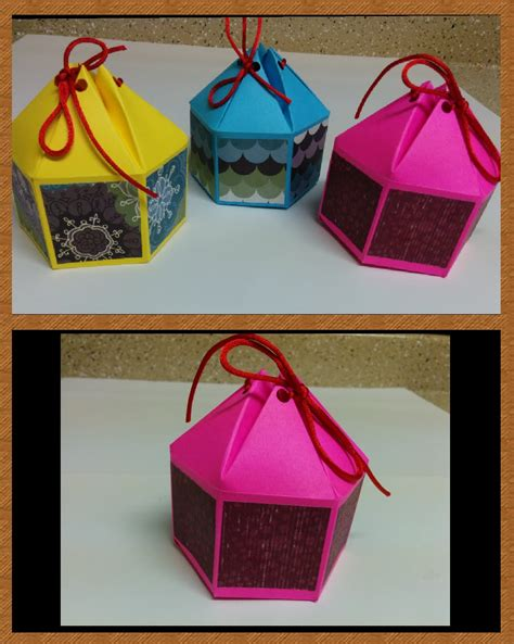 arts and crafts box for and craft how to make hexagonal gift box