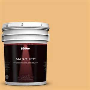 behr paint colors gold buff behr marquee 5 gal 310d 4 gold buff flat exterior paint