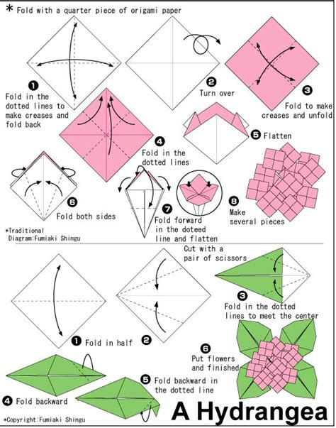 origami flowers pdf 230 best images about origami on origami paper