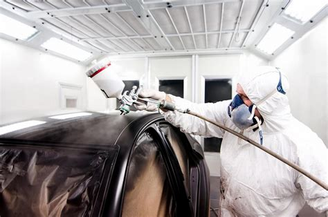 spray painter career spray painting in the automotive and panel beating