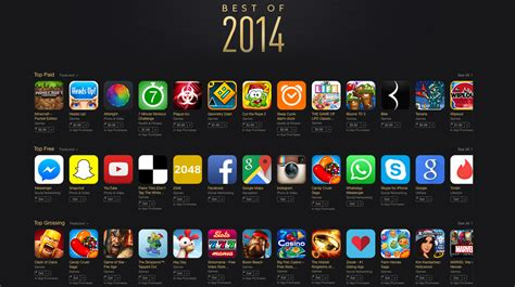 best app apple announces the app store s best free and paid apps of