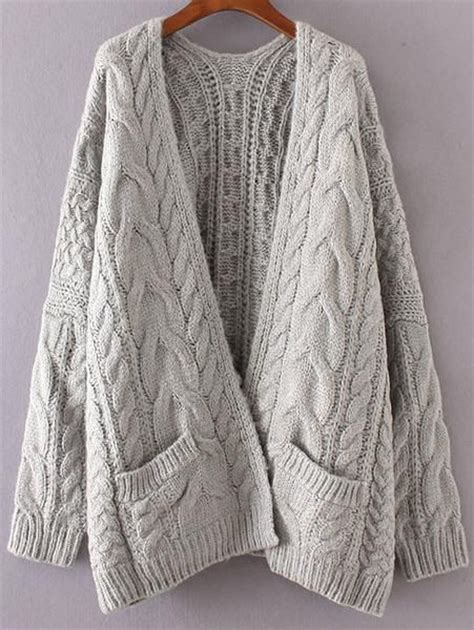 chunky cable knit cardigan sweater best 25 knit sweaters ideas on winter