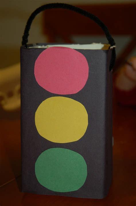 traffic light craft for traffic light craft holder manualidades