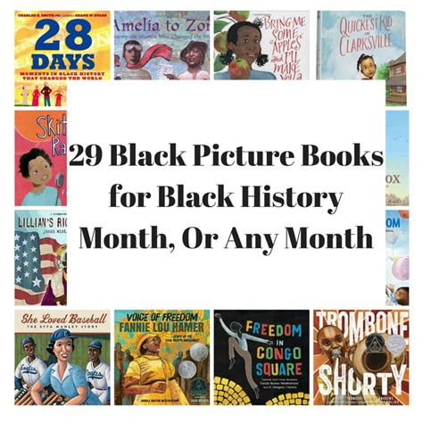 black history picture books 29 black picture books for black history month or any