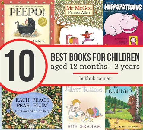 best picture books for 3 year olds top 10 best books for children aged 18 months to 3 years