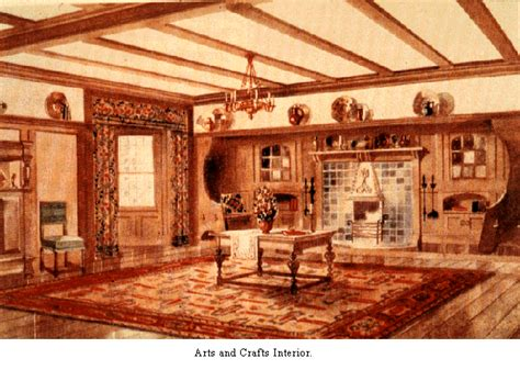 Arts And Crafts Homes Interiors modern architecture ruskin le duc and semper