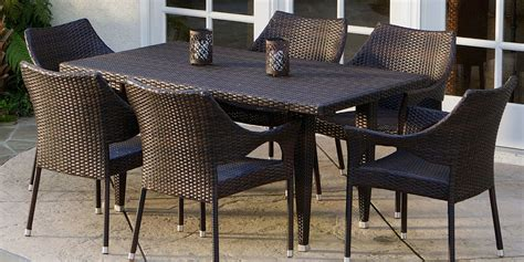 patio 7 dining set darlee ten 7 cast aluminum patio dining set darlee santa
