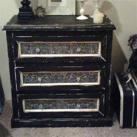 chalk paint black blackboard paint diy modern furniture decoration in black