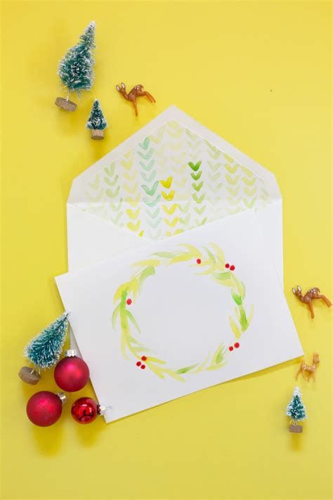 how to make watercolor cards diy watercolor cards envelope liners 187 lovely indeed