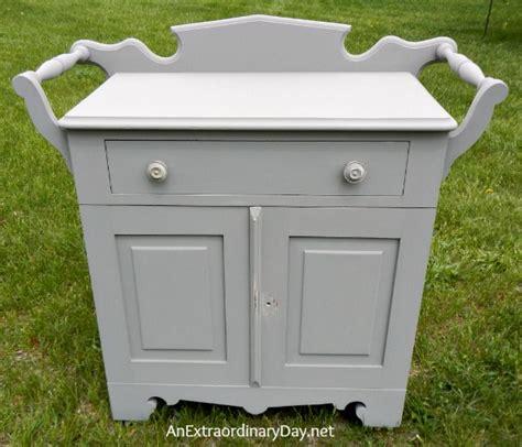 chalk paint lumpy second coat antique washstand with a folkart home decor chalk paint
