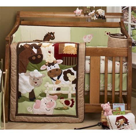 farm animal crib bedding nojo farm babies crib bedding baby boy nursery