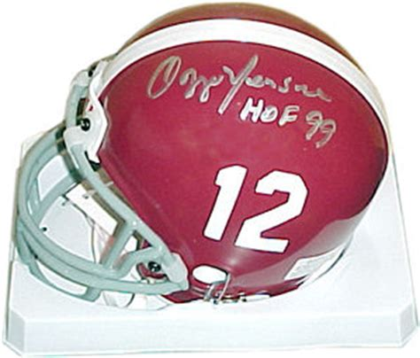 Wizard Of Oz Wall Murals autographed ozzie newsome alabama crimson tide mini helmet