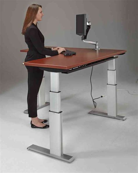 l shaped standing desk corner standing desk decor ideasdecor ideas