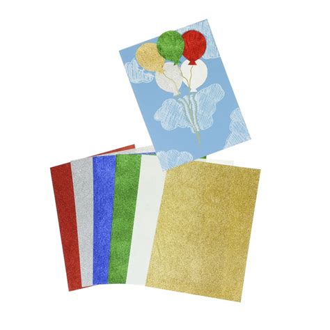 card paper packs a4 glitter paper pack 12 sheets card paper from