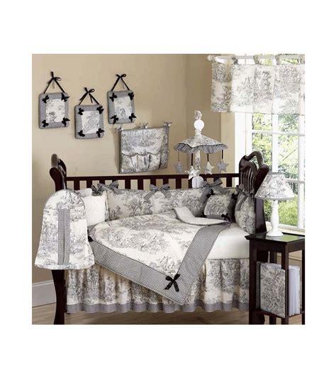 sweet jojo designs crib bedding sweet jojo designs toile 9 crib bedding set