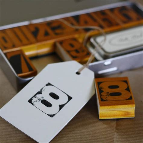 rubber st numbers vintage rubber number sts and ink pad by the wedding of