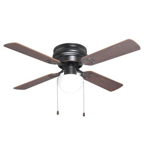 ceiling hugger fans with lights rubbed bronze 42 quot hugger ceiling fan w light kit