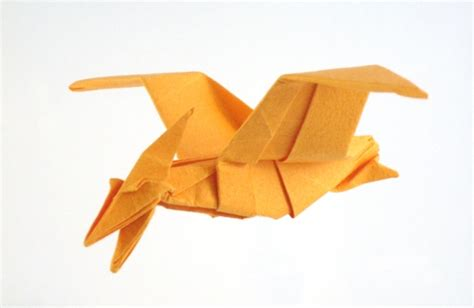 origami pteranodon dinosaur origami by montroll book review gilad s