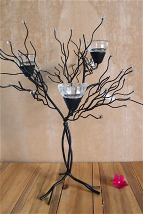 metal twig tree candle holder candelabras candle trees