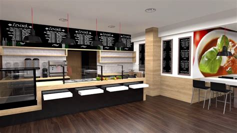 fast food kitchen design visual concept fast food design holczer zsolt formative