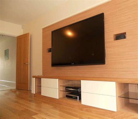 woodworking on tv looking wood wall paneling design with wall mounted