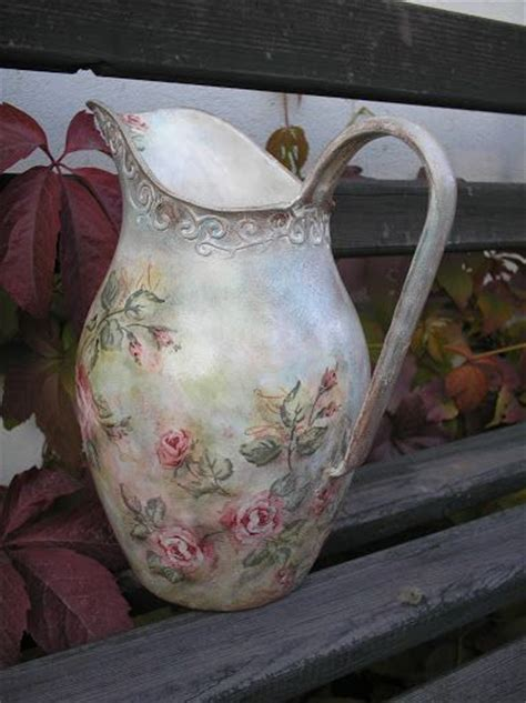 how to decoupage a vase 17 best images about decoupage vases on