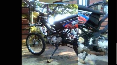 Modifikasi Motor Bebek by 85 Modifikasi Motor Honda Supra Jadi Trail Modifikasi Trail