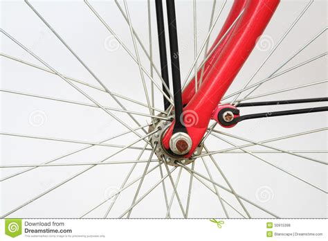 bicycle spoke closeup of bicycle spoke on the wheel royalty free stock