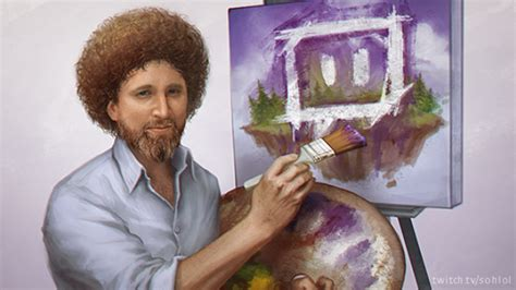 tv programm bob ross painting twitch is bob ross s the of painting for 8 189