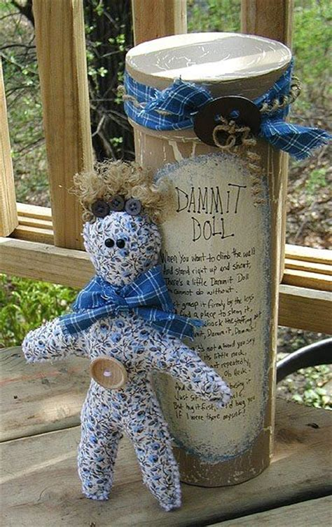 country craft projects dammit doll tutorial to make it one of my patients had