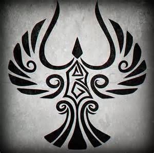 how to draw a tribal bird step by step tattoos pop