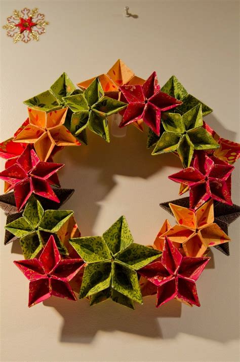 origami wreath origami wreath by becks origami
