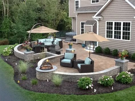 patio landscaping designs 25 best ideas about patio design on backyard