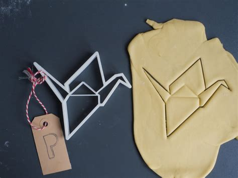 origami cutter items similar to origami crane cookie cutter small 3d