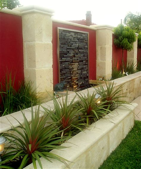 garden feature wall water features perth water features wa water walls water