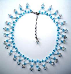 simple beading designs simple beaded necklace designs www imgkid the