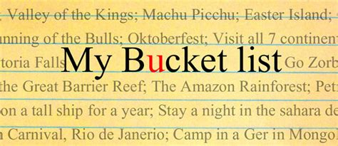 my list bucketlist archives safe and healthy travel