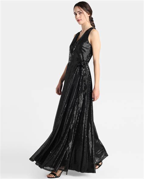 vestidos lentejuelas el corte ingles el corte ingl 233 s vestido largo negro lentejuelas