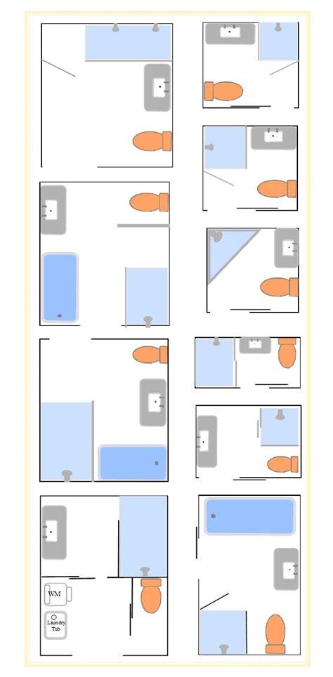 Bathroom Shower And Tub Ideas bathroom layouts to enhance kit house plans