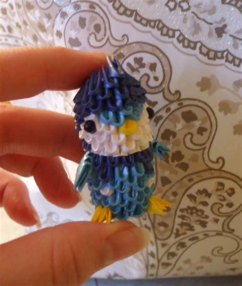 origami mini piplup 3d mini origa album isabelle 3d origami