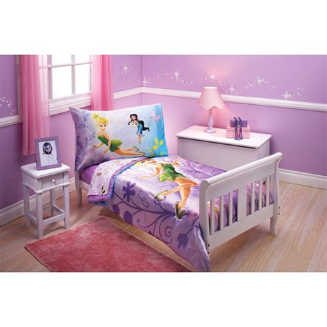 tinkerbell toddler bed set disney tinkerbell toddler baby 4 bedding set